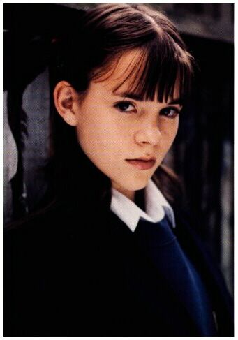 Maddie Gilks from Grange Hill looking moody.