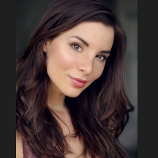 Kacey Barnfield actress studio shot.