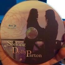 Photo of a Seeking Dolly Parton DVD disc.