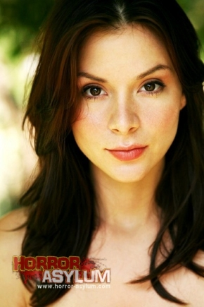 Close-up shot of Kacey Barnfield looking pretty.