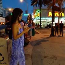 Kacey Barnfield in Miami