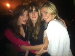 Three hot girls on a night out.