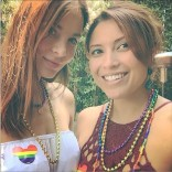 Kacey Barnfield celebrating LGBT Pride month