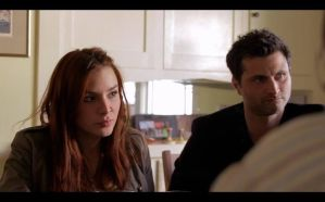 Kacey Barnfield and Raffaello Degruttola in Seeking Dolly Parton