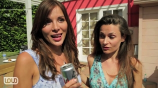 Kacey Barnfield and Marguerite Insolia in Massholes