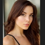 Photo of Kacey Barnfield's beautiful face.