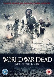 Front cover of the movie World War Dead: Rise of the Fallen