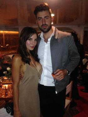 Kacey Clarke and Antonio Magro at Cannes Film Festival