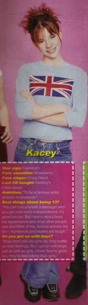 Interview with Kacey Barnfield when she was thirteen years old
