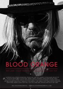 Iggy Pop on the poster for the film Blood Orange.
