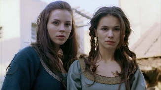 Kacey Barnfield and c-star looking worried