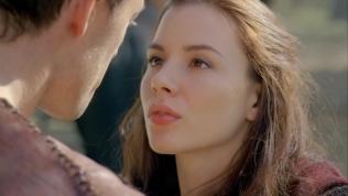 Kacey Clarke puckering her beautiful lips