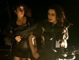 Hot babes with big guns