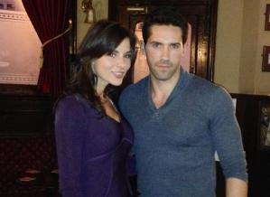 Kacey Barnfield and her her Green Street 3 co-star Scott Adkins