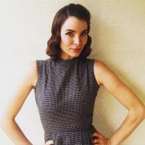 Kacey Clarke looking like a vintage beauty